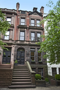 Townhouse for sale 120 west 87th street townhouse for for New york city townhouse for sale