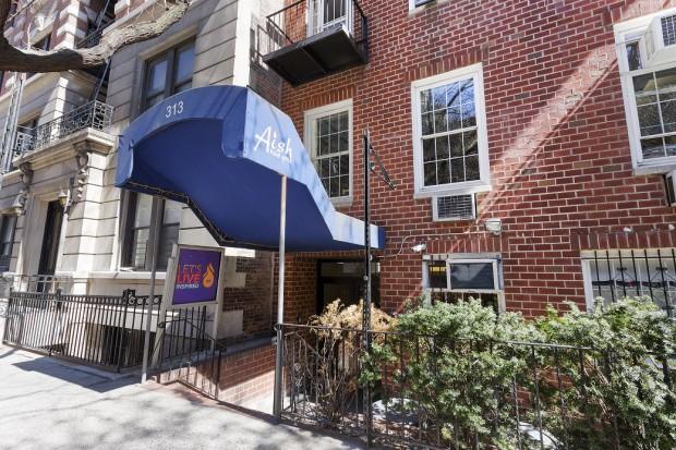 313 West 83rd Street-Facade