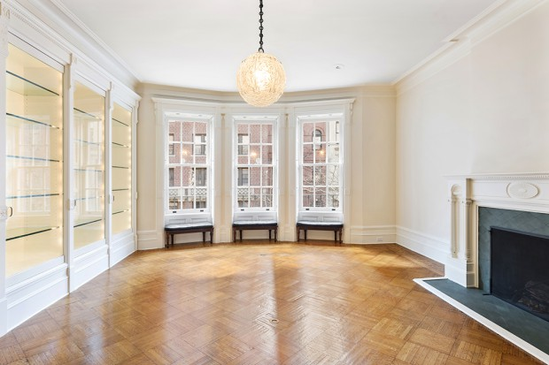 37 West 70th Living Room