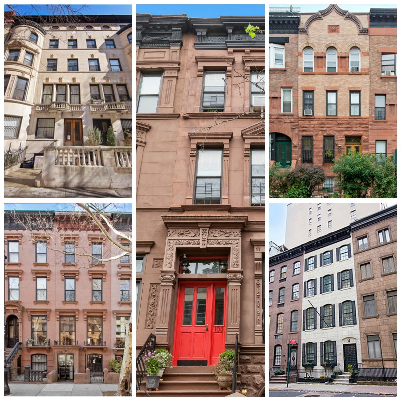 5 townhouses