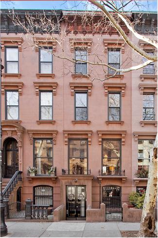 Brownstones for sale in nyc 3 13 townhouse for sale for Nyc townhouse with garage