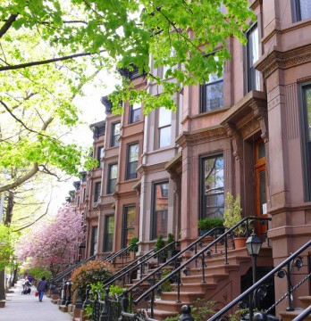 new york brownstones